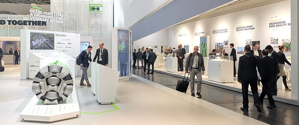 GTE booth @ Bauma 2019 | Global Tunnelling Experts