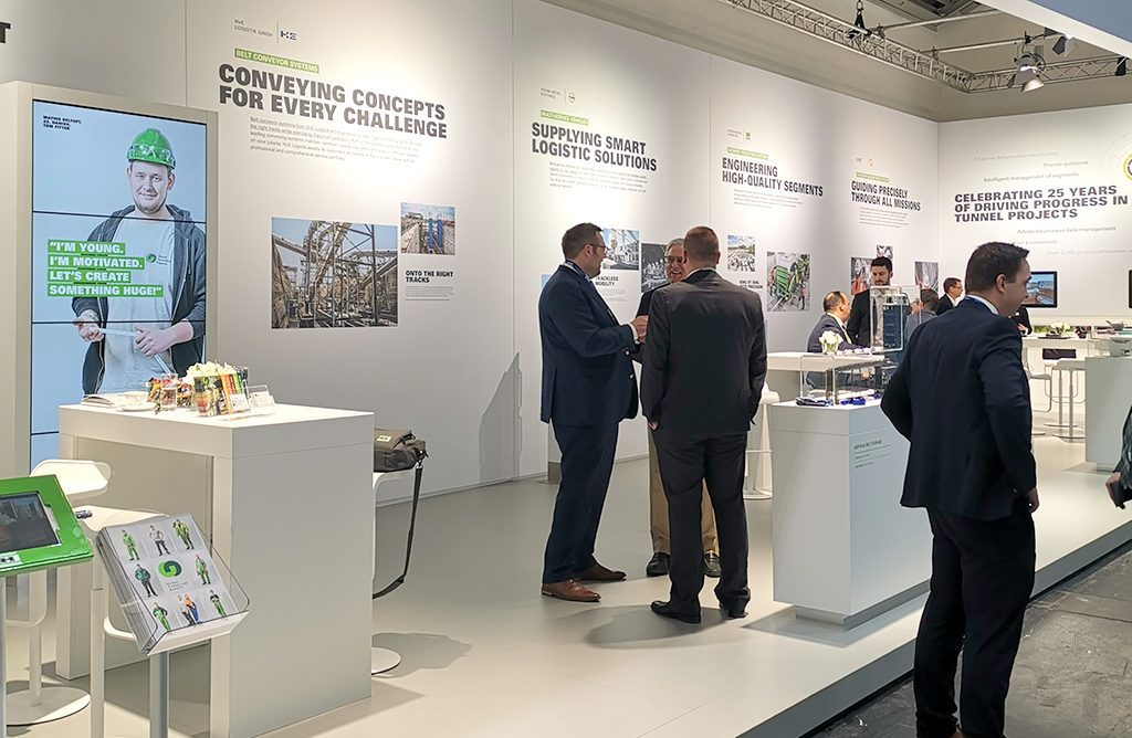 Bauma GTE Booth | Global Tunnelling Experts