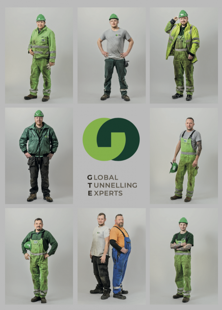 GTE VIP Bauma Brochure front cover | Global Tunnelling Experts