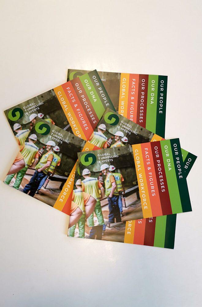 GTE Bauma Marketing Material